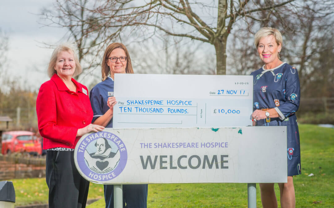 10k donation boosts hospice.