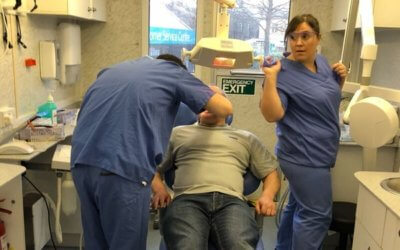 Donation drives dental care.
