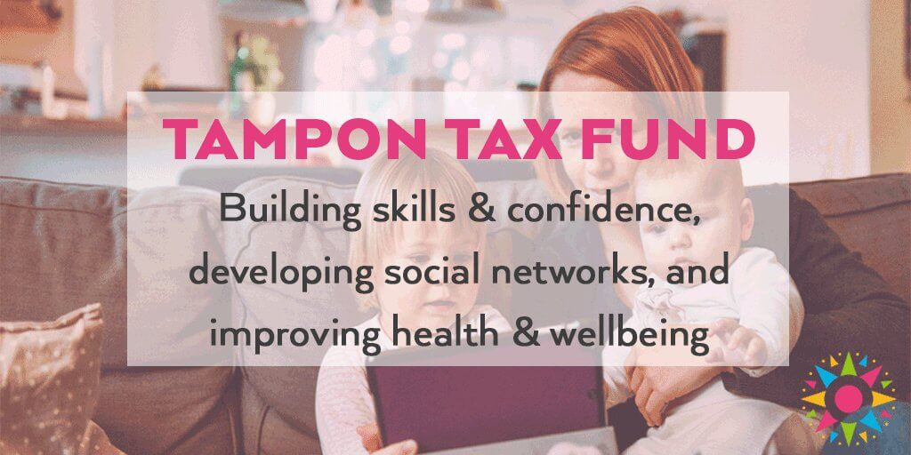 UK Community Foundations successful in bid for Tampon Tax Fund.