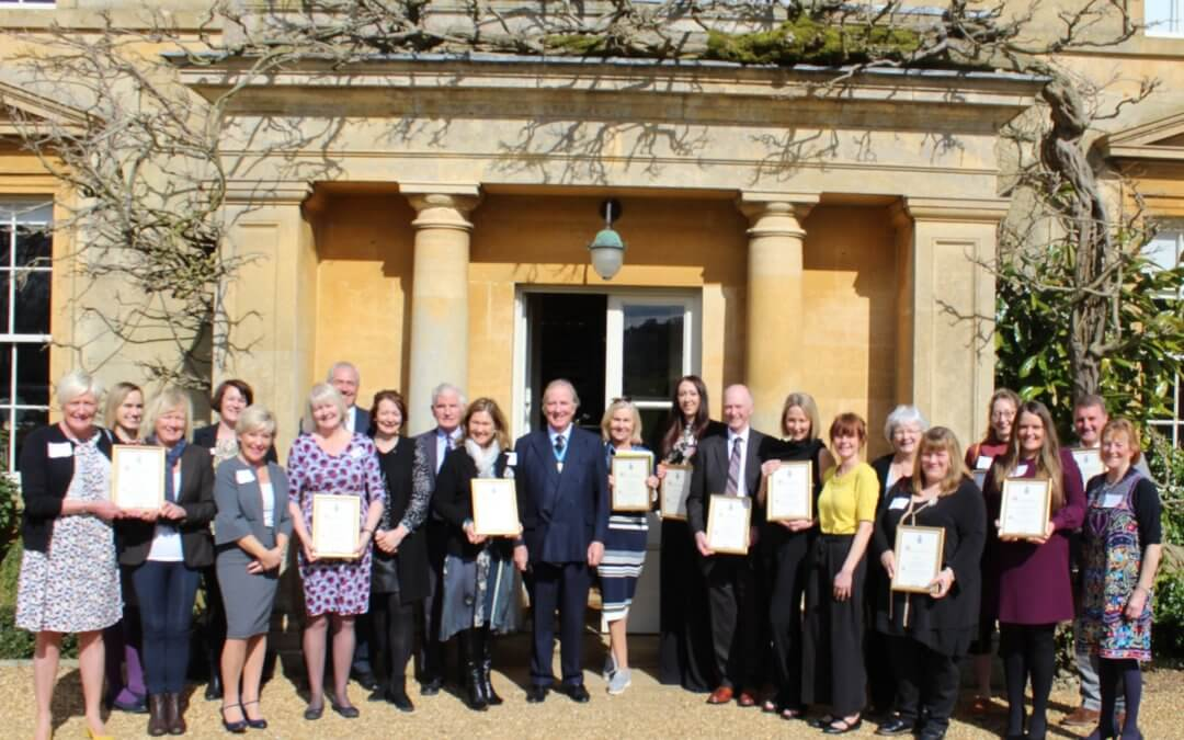 High Sheriff awards £5,000 to local charities.