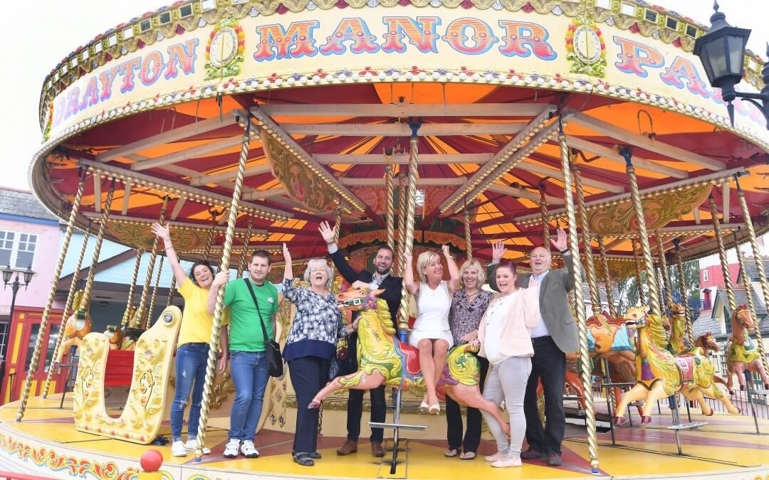 Partnership with Drayton Manor benefiting family projects.
