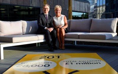 Wesleyan Foundation hits £1million funding milestone