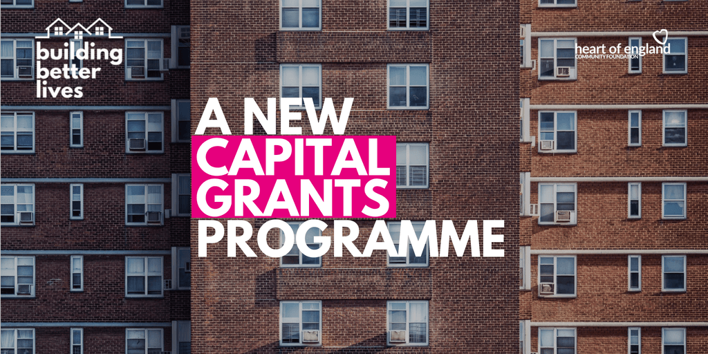 Capital grants programme opens.