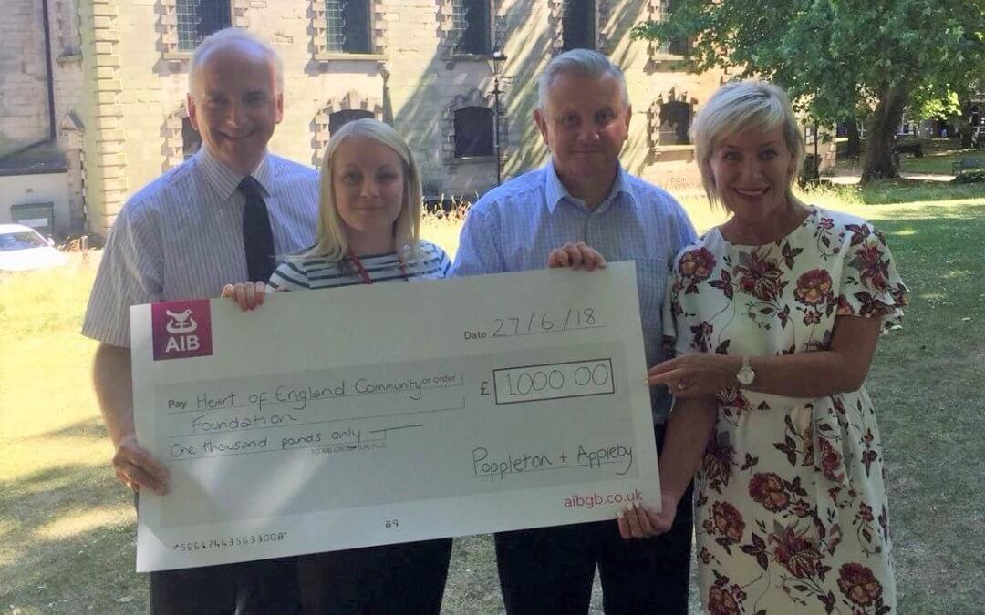 Quiz night raises £1,000.