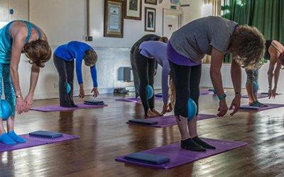 Yoga group tackling mental health.