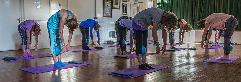 Yoga group tackling mental health.