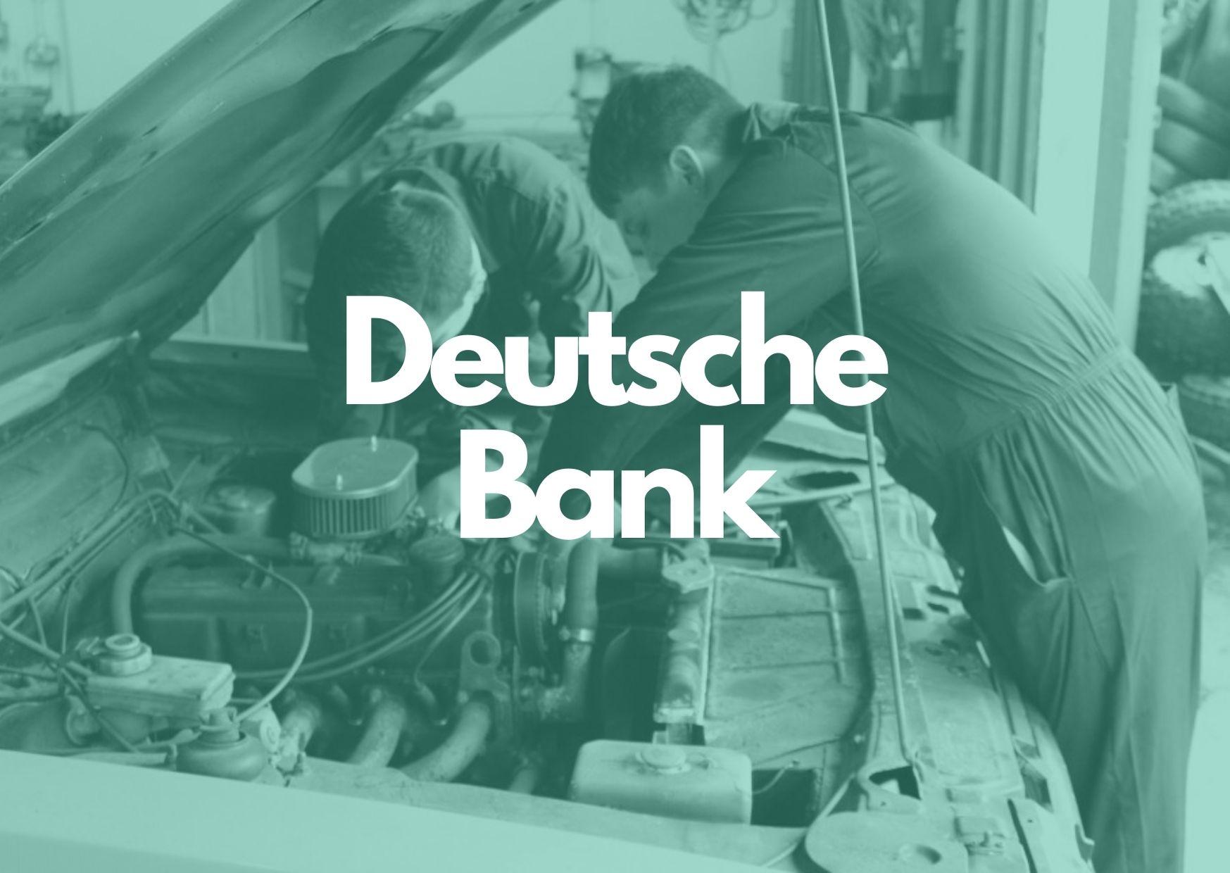 Donor Spotlight: Deutsche Bank