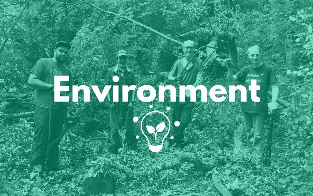 Helping Communities Thrive: Environment.