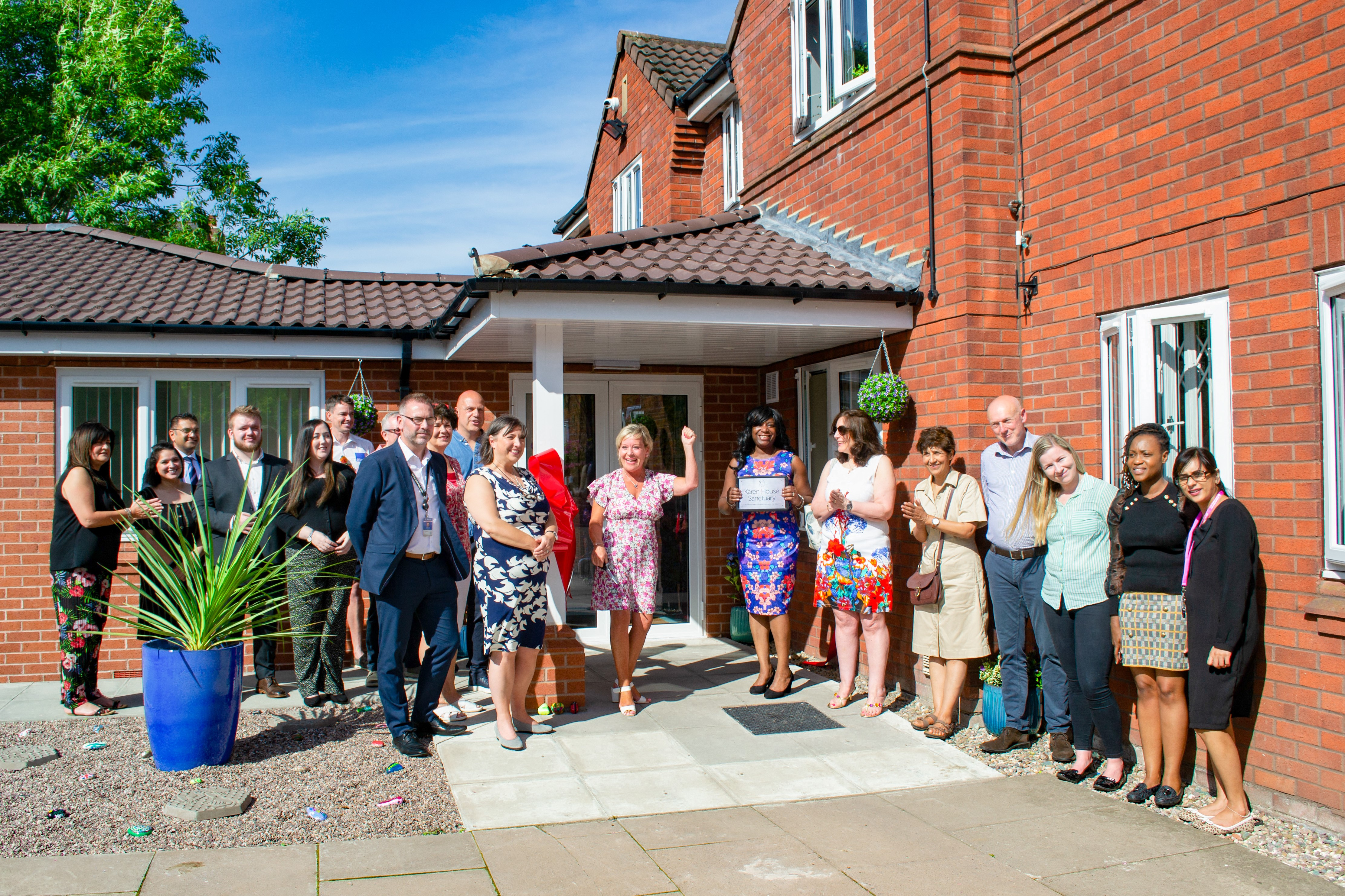 Black Country Women's Aid launches safe-house for victims of modern slavery.